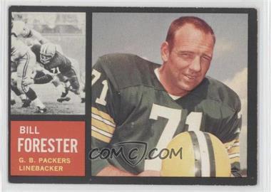 1962 Topps - [Base] #73 - Bill Forester