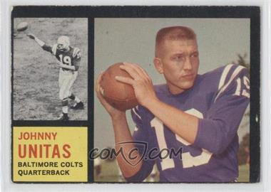 1962 Topps #1 - Johnny Unitas [Good to VG‑EX]