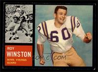 Roy Winston [VGEX]