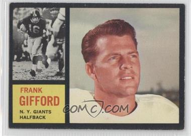 1962 Topps #104 - Frank Gifford