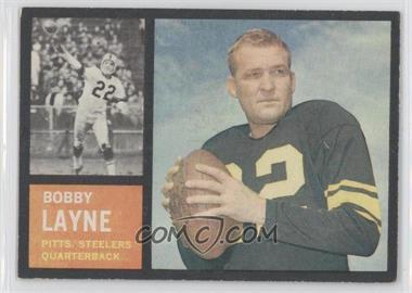 1962 Topps #127 - Bobby Layne