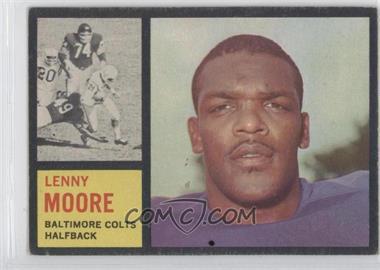 1962 Topps #2 - Lenny Moore