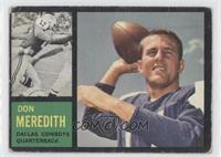 Don Meredith [Good to VG‑EX]