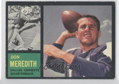 1962 Topps #39 - Don Meredith