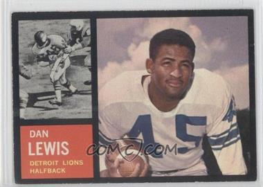1962 Topps #51 - Dan Lewis