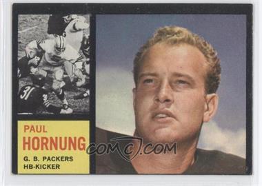 1962 Topps #64 - Paul Hornung