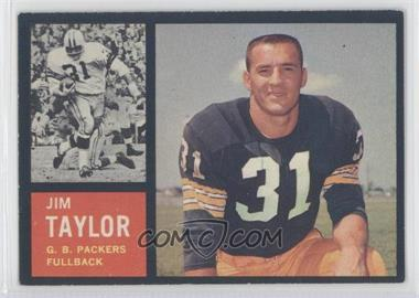 1962 Topps #66 - Jim Taylor