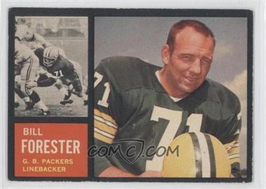 1962 Topps #73 - Bill Forester