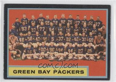 1962 Topps #75 - Green Bay Packers Team [Good to VG‑EX]
