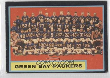 1962 Topps #75 - Green Bay Packers Team