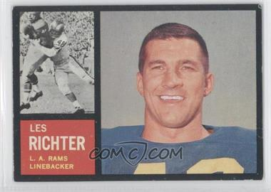 1962 Topps #86 - Les Richter [Good to VG‑EX]