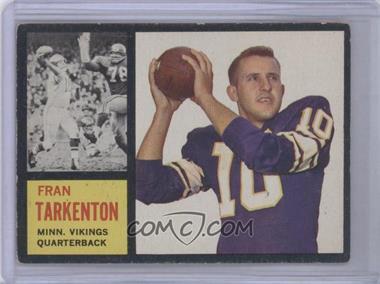 1962 Topps #90 - Fran Tarkenton