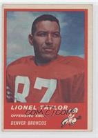 Lionel Taylor [GoodtoVG‑EX]