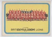 BC Lions (Vancouver Lions) (CFL) Team