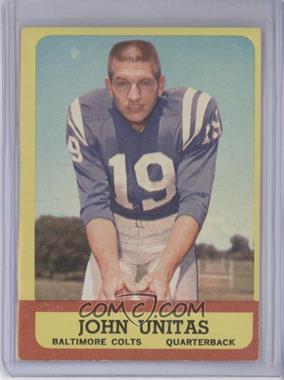1963 Topps #1 - Johnny Unitas