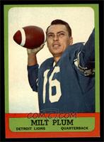 Milt Plum [NM]