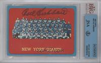 New York Giants Team [BVG/JSA Certified Auto]