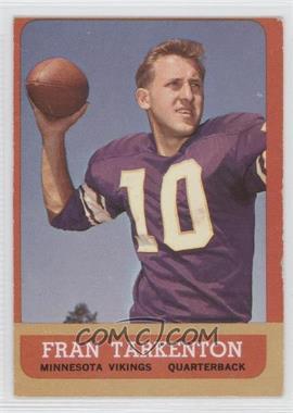 1963 Topps #98 - Fran Tarkenton