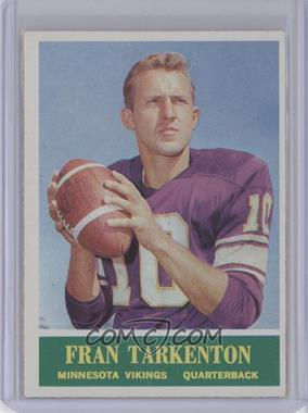 1964 Philadelphia - [Base] #109 - Fran Tarkenton