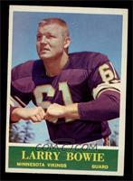 Larry Bowie [EX]
