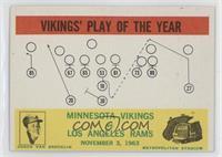 Minnesota Vikings Team, Los Angeles Rams Team