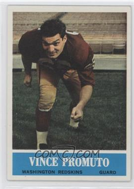 1964 Philadelphia #191 - Vince Promuto