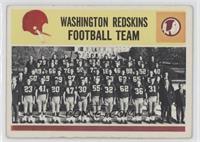 Washington Redskins Team