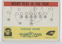 Chicago Bears Team, Baltimore Colts Team [Good to VG‑EX]