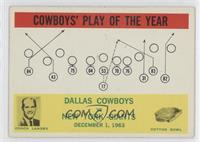 Dallas Cowboys Team, Tom Landry [GoodtoVG‑EX]
