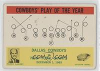 Dallas Cowboys Team, Tom Landry [Good to VG‑EX]
