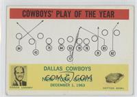 Dallas Cowboys Team, Tom Landry