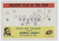 Green Bay Packers, Detroit Lions [Good to VG‑EX]