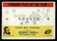 Packers' Play of the Year [VG EX]