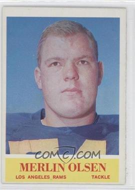 1964 Philadelphia #91 - Merlin Olsen