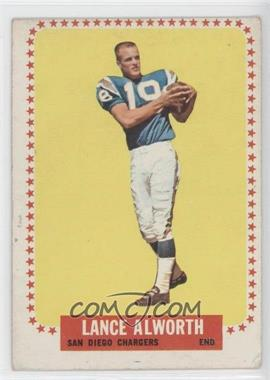 1964 Topps #155 - Lance Alworth [GoodtoVG‑EX]