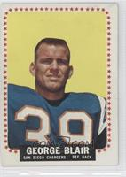 George Blair [Good to VG‑EX]