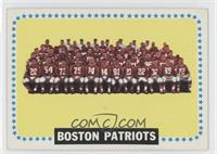 New England Patriots Team