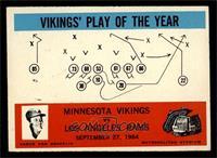 Minnesota Vikings, Los Angeles Rams [EX]