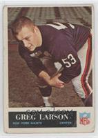 Greg Larson [GoodtoVG‑EX]