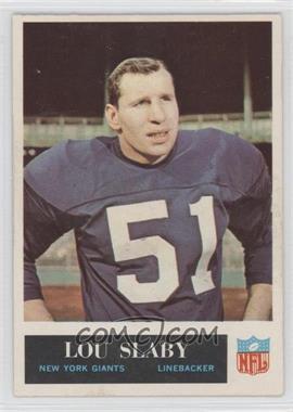 1965 Philadelphia #121 - Lou Slaby