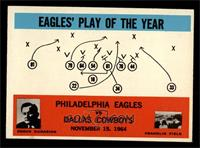Philadelphia Eagles, Dallas Cowboys Team [EX MT]