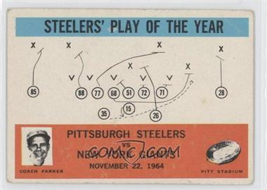 1965 Philadelphia #154 - Pittsburgh Steelers Team, New York Giants Team [Good to VG‑EX]