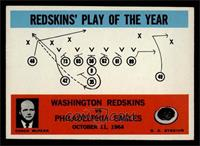 Washington Redskins, Philadelphia Eagles [EX MT]