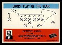 Detroit Lions, San Francisco 49ers [EX]