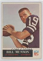 Bill Munson [Good to VG‑EX]