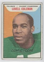 Lovell Coleman [Good to VG‑EX]