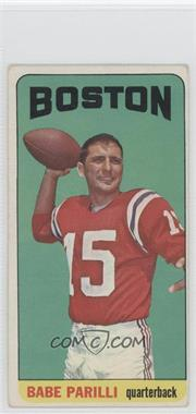 1965 Topps #17 - Babe Parilli [Good to VG‑EX]