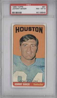 1965 Topps #67 - Johnny Baker [PSA8]