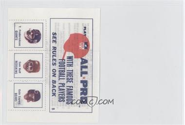 1966 American Oil NFL All-Pro Envelope Player Pictures - [Base] #N/A - Gale Sayers, Sam Huff, Tucker Frederickson