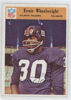 1966 Philadelphia #12 - Ernie Wheelwright